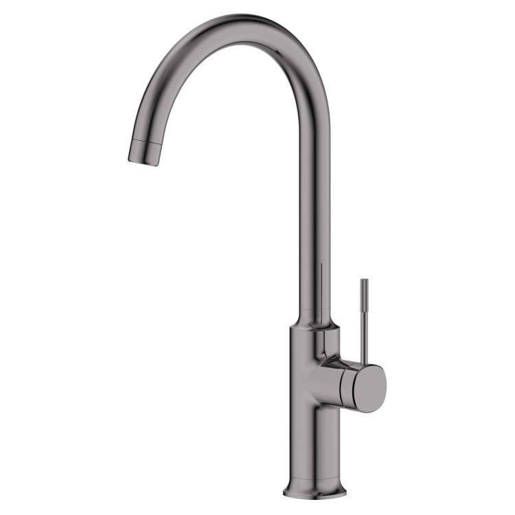 BRENTA змішувач для кухні, граф.хром, 25 мм - 1