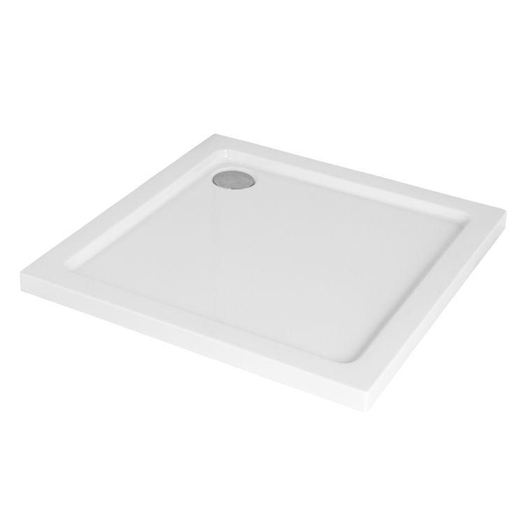BENITA душова кабіна квадратна 900*900*2000мм, піддон (PUF) 5 см (з сифоном),ліва, орні, профіль хром, прозоре скло - 9