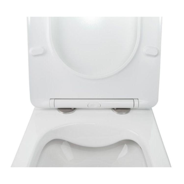 Комплект Qtap інсталяція Nest QTNESTM425M11CRM + унітаз з сидінням Jay QT07335176W + набір для гігієнічного душу зі змішувачем Inspai-Varius QTINSVARCRMV00440501 - 6