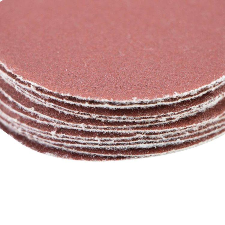 Шлифовальный круг без отверстий Ø50мм P320 (10шт) Sigma (9120531) - 4