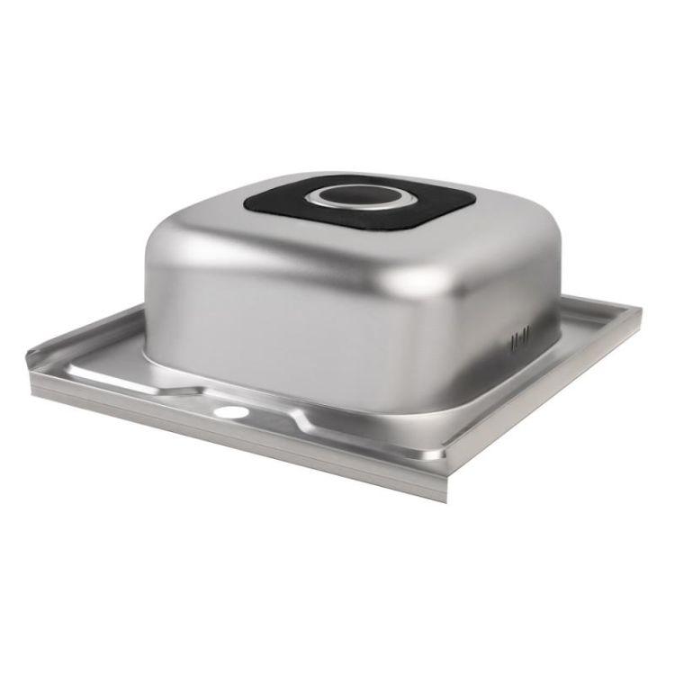 Кухонна мийка Lidz 5050 Decor 0,8 мм (LIDZ5050DEC08) - 5