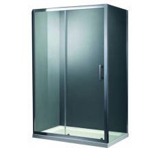 Душевая кабина Primera FRAME 120х800х1900 двери раздвижные реверсивная стекло прозрачное без піддону