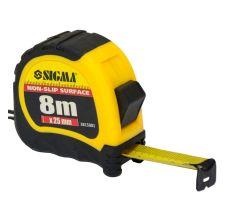 Рулетка shiftlock 8м*25мм Sigma (3815081)