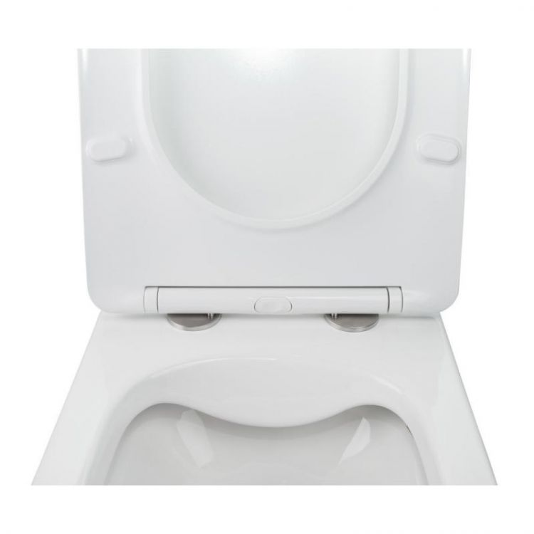 Комплект Qtap інсталяція Nest QTNESTM425M08CRM + унітаз з сидінням Jay QT07335176W + набір для гігієнічного душу зі змішувачем Inspai-Varius QTINSVARCRMV00440501 - 6