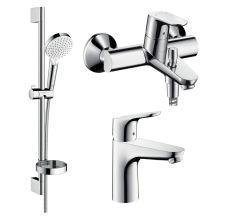 Focus Набір змішувачів для ванни (31607000+31940000+26553400)