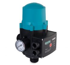 "Контролер тиску електр Aquatica 779534 1.1кВт 1"" (авт.пошук води) +рег тиску увімк1.5-3.0 bar"