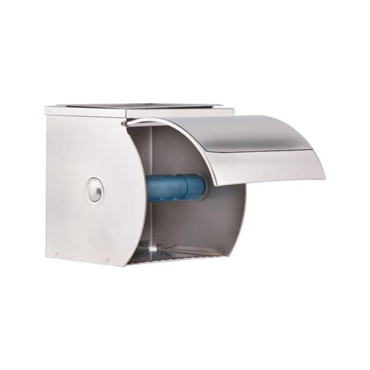 Держатель для туалетной бумаги с крышкой Potato P300 - 3
