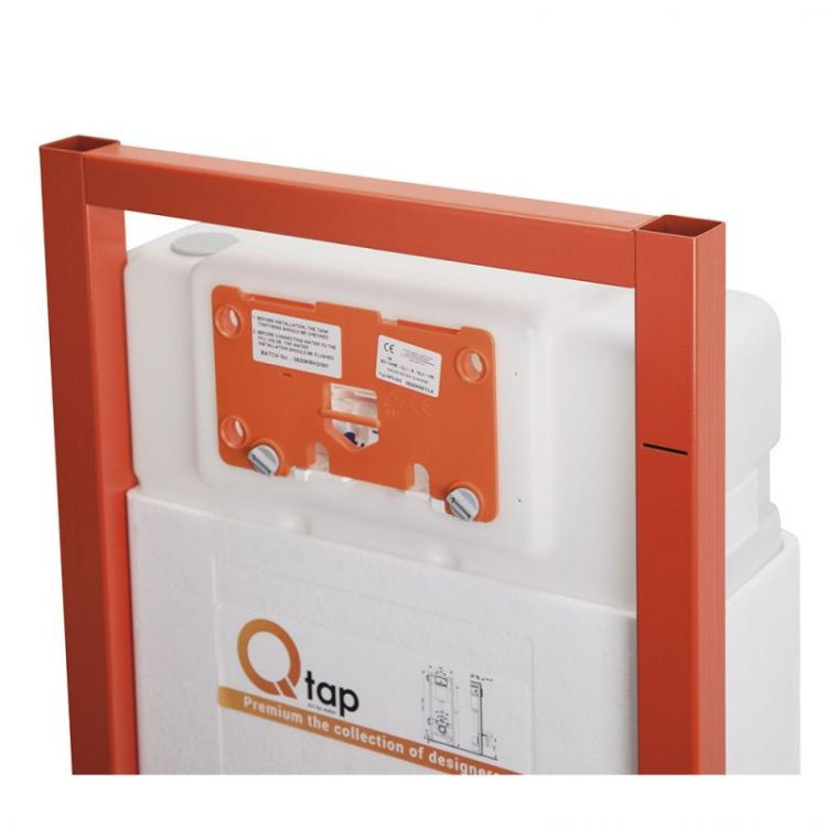 Набір інсталяція 4 в 1 Qtap Nest ST з круглої панеллю змиву QT0133M425V1163GB - 3