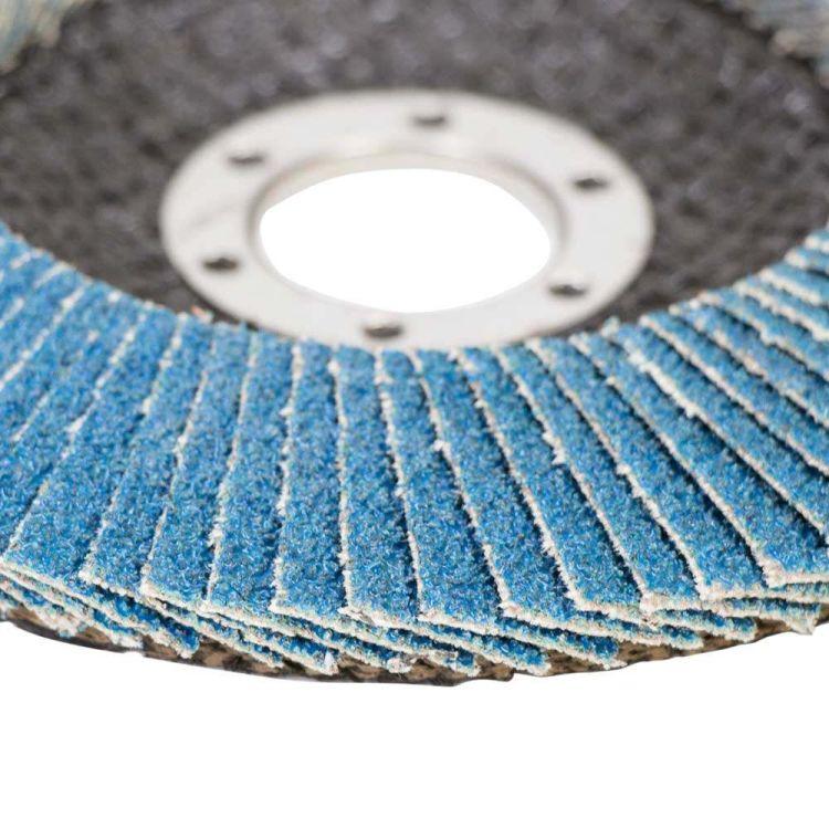 Круг лепестковый торцевой Т29 (конический) ZA Ø125мм P80 Sigma (9173541) - 4