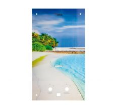 Стеклянная панель AquaTronic (beach)