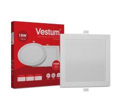 Світильник LED врізний квадратний Vestum 18W 4000K 220V