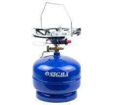 Комплект газовий кемпінг з п'єзопідпалом Comfort 5л SIGMA (2903111)