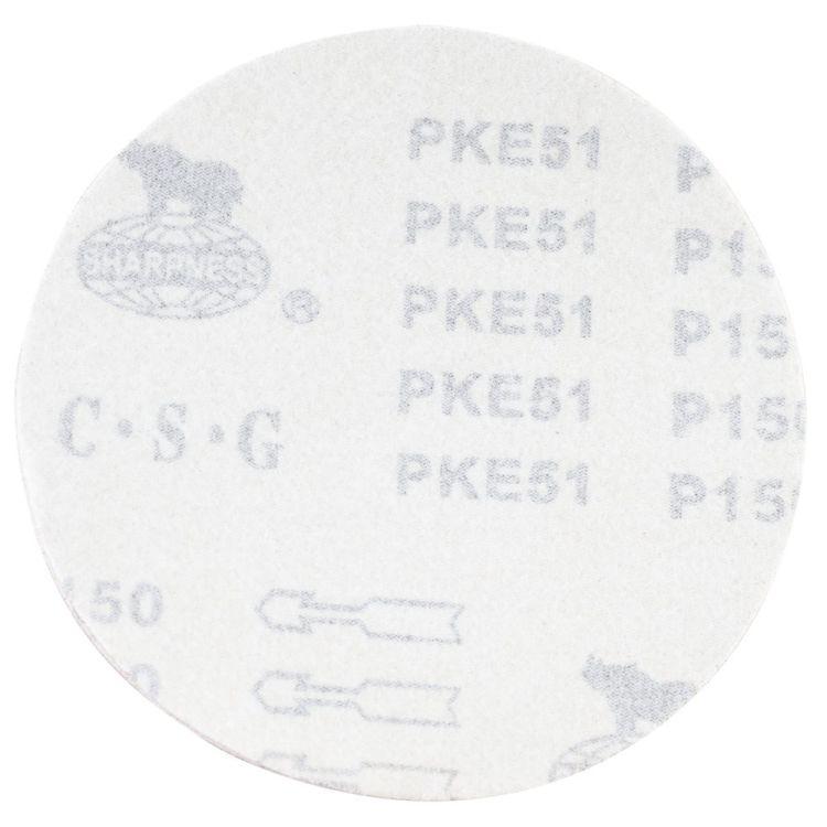 Шлифовальный круг без отверстий Ø150мм P150 (10шт) Sigma (9121381) - 2