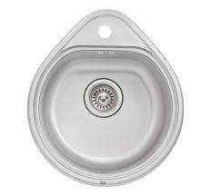 Кухонна мийка Qtap 4450 Satin 0,8 мм (QT4450SAT08)