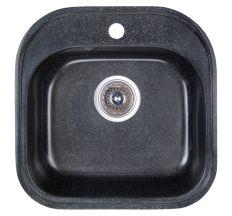 Мийка Fosto 48х49/475*475*170 колір SGA-420 чорний (без сифона)