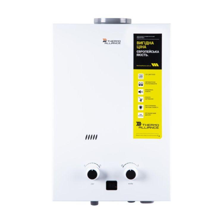 Колонка димохідна газова Thermo Alliance Compact JSD 20-10CL 10 л біла - 1