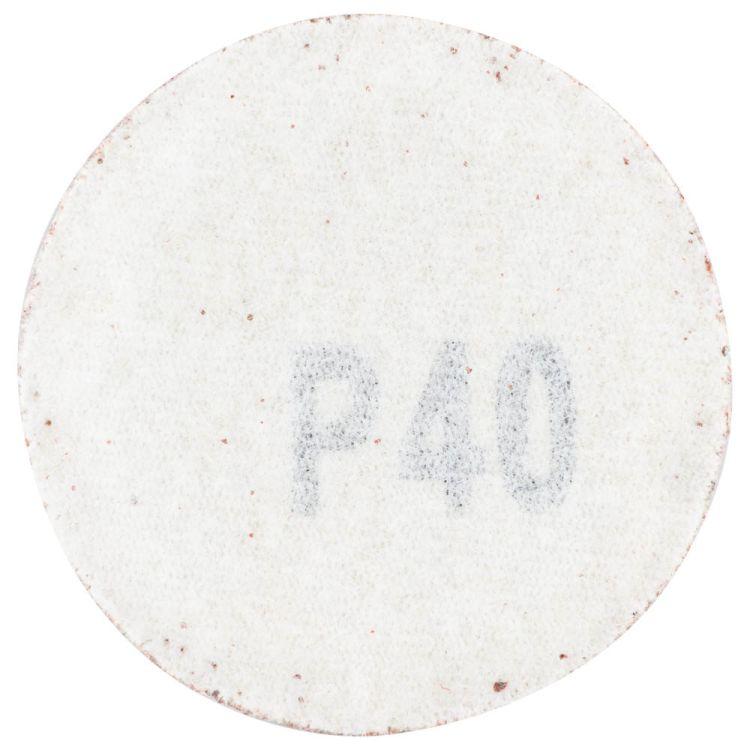 Шлифовальный круг без отверстий Ø50мм P40 (10шт) Sigma (9120431) - 2