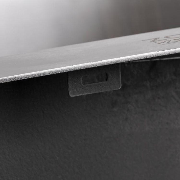 Кухонна мийка Lidz H5245 Brush 3.0/1.0 мм (LIDZH5245BRU3010) - 8
