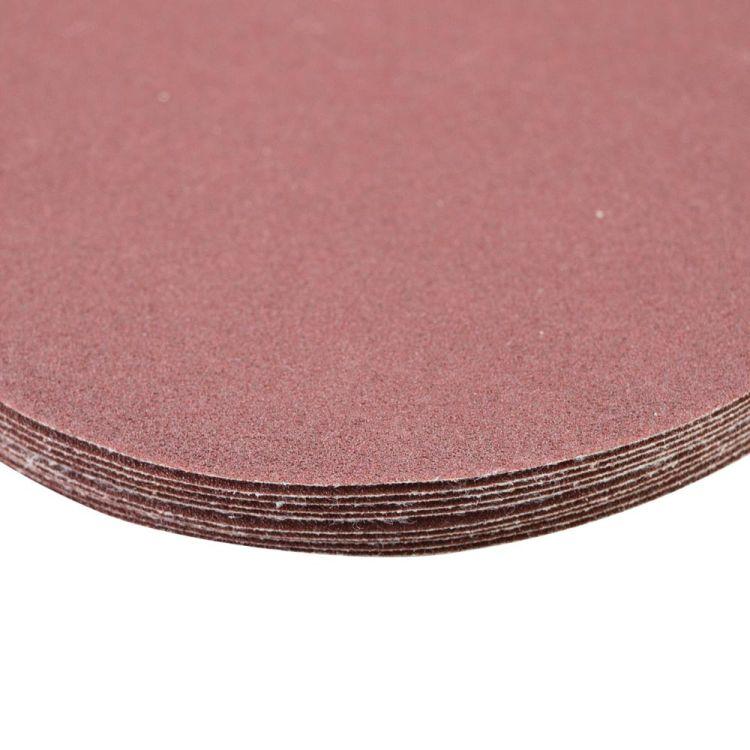 Шлифовальный круг без отверстий Ø125мм P150 (10шт) Sigma (9121131) - 4