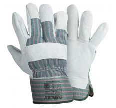 Замшеві рукавички комбіновані р10,5, клас АВ (цілісна долоню) Sigma (9448341)