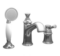 PODZIMA LEDOVE смеситель для ванны, врезной, на три отверстия