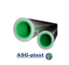 Труба поліпропіленова ASG PN20 25х4.2мм