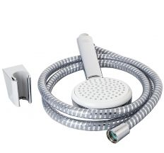 Crometta 100 Porter Ручний душ, білий хром