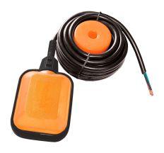 Поплавковий вимикач універсальний кабель 3м×0.75мм2 з баластом Wetron (779661)