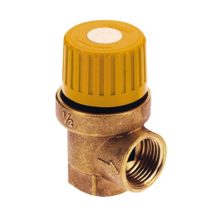 """Запобіжний клапан Icma 1/2""""х3/4"""" ВР для геліосистеми №S121 - 1"""
