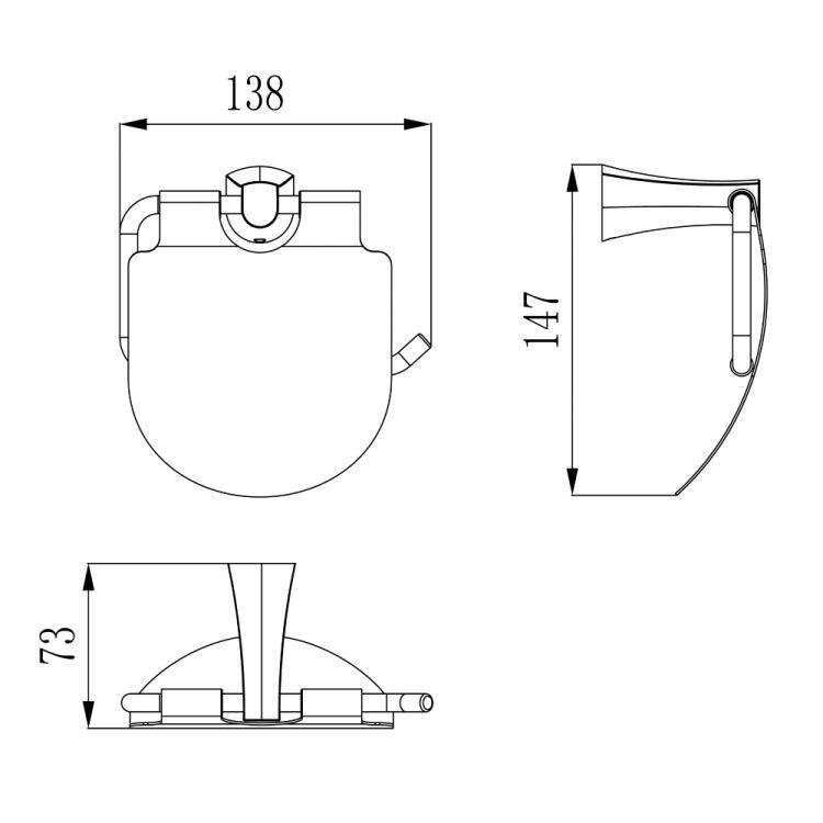 CUTHNA antiqua держатель для туалетной бумаги - 2