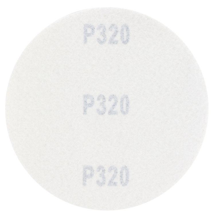 Шлифовальный круг без отверстий Ø125мм Gold P320 (10шт) Sigma (9120131) - 2