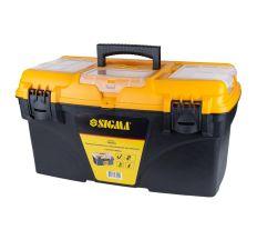 Ящик для інструменту зі знімними органайзерами 510×291×280мм Sigma (7403951)