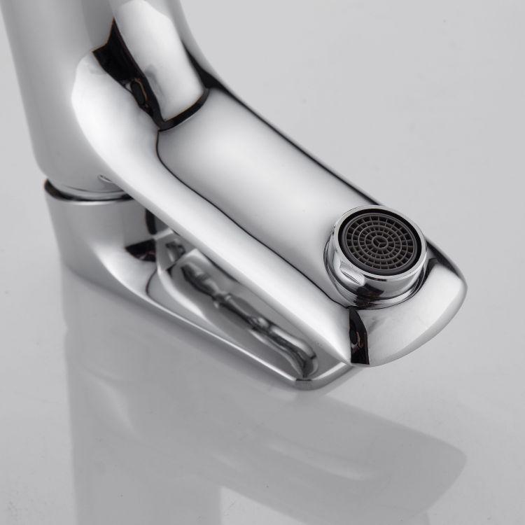 VELUM смеситель для умывальника однорычажный на гайке , хром 35 мм - 5