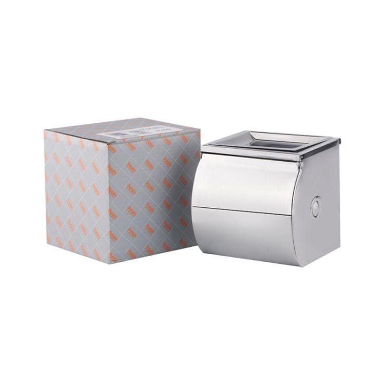 Держатель для туалетной бумаги с крышкой Potato P300 - 4