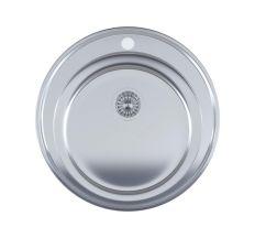 Кухонна мийка Imperial 510-D Satin (IMP510D06SAT)