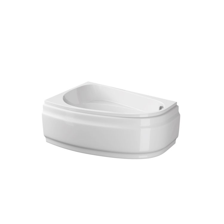 Ванна акриловая Cersanit Joanna New 150x95 R с ножками - 1