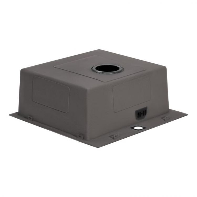 Кухонна мийка Qtap D5050BL 2.7/1.0 мм (QTD5050BLPVD10) - 5