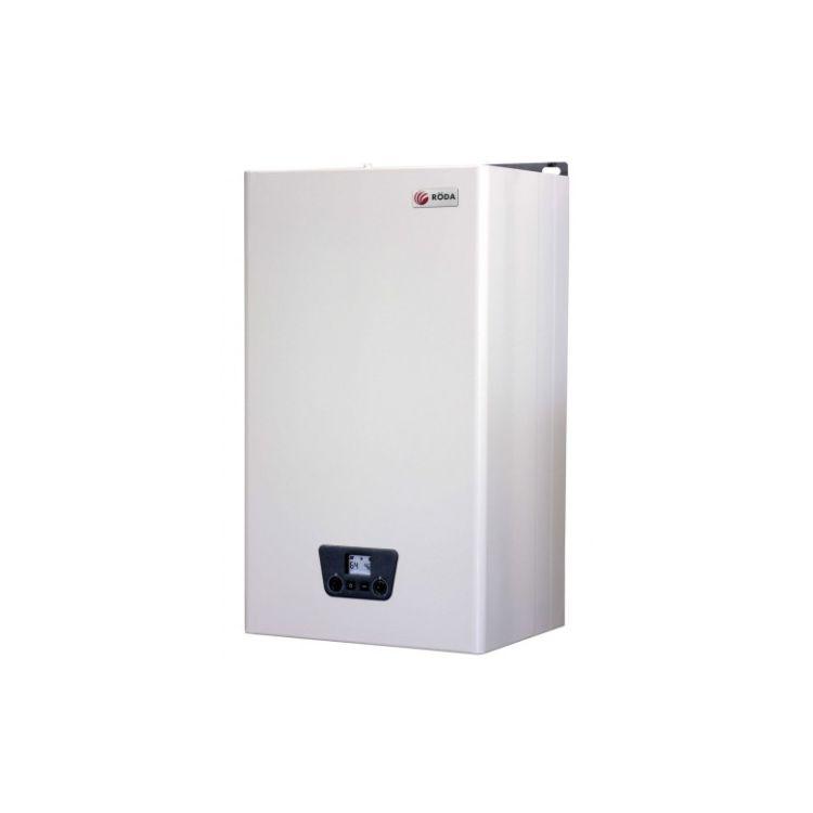 Котел газовий RODA Micra Duo CS 24 кВт (турбо 2 теплооб) + труба - 1