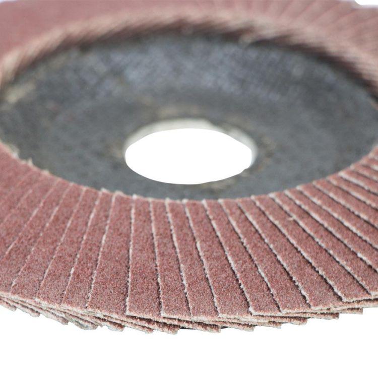 Круг лепестковый торцевой Т29 (конический) Ø125мм P120 Sigma (9172661) - 4