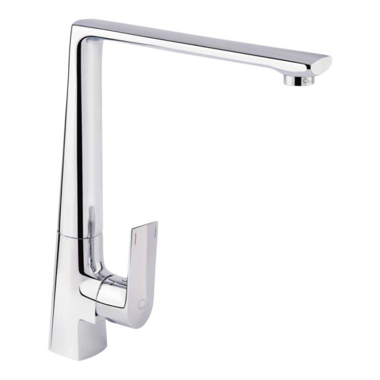 Змішувач для кухонного миття Q-tap Estet CRM 007F - 1