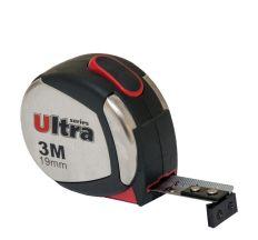 Рулетка магнітна, нейлонове покриття 3м*19мм Ultra (3822032)