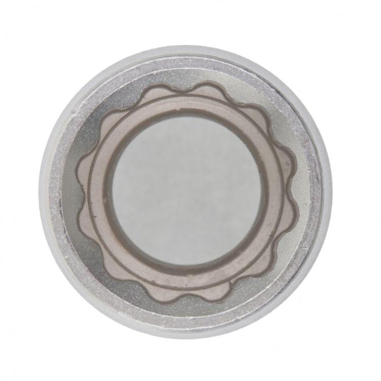 """Головка торцева, 17 мм, 12-гранна, CrV, під квадрат 1/2"""", хромована MTX MASTER 136909 - 2"""