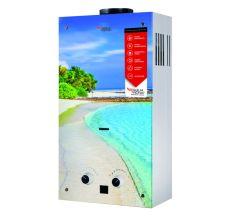 Колонка димохідна газова Aquatronic JSD20-AG308 10 л скло (пляж)