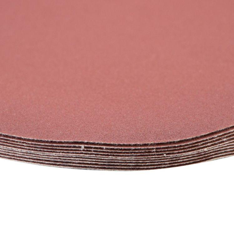Шлифовальный круг без отверстий Ø150мм P320 (10шт) Sigma (9121431) - 4