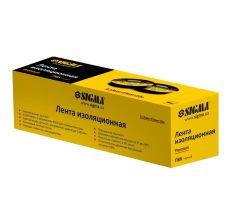 Ізолента ПВХ (чорна) 0,13 мм×19мм×10м Premium Sigma (8411601)