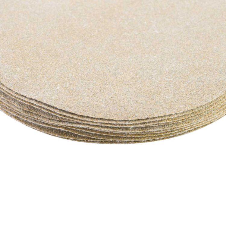 Шлифовальный круг без отверстий Ø125мм Gold P120 (10шт) Sigma (9120071) - 4