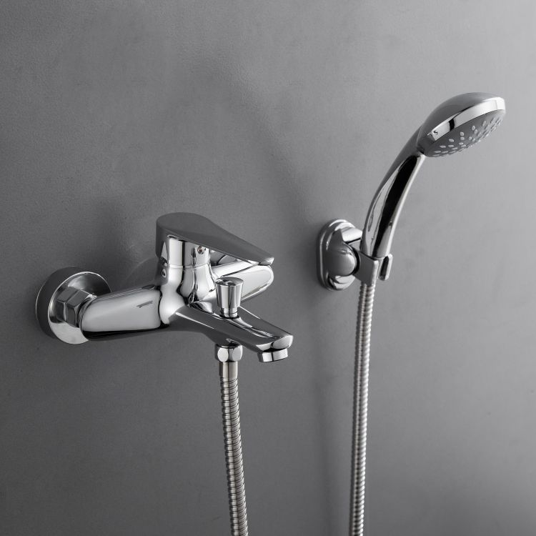 TULIP змішувач для ванни одноважільний, хром 35 мм - 3