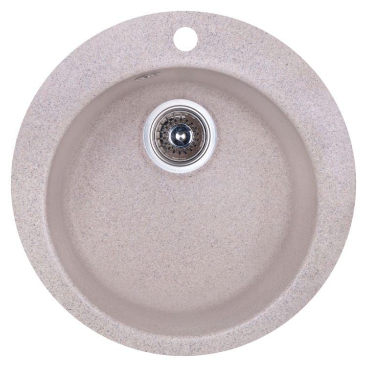 Мойка Fosto 470/475*165 цвет SGA-300 песок (без сифона) - 1
