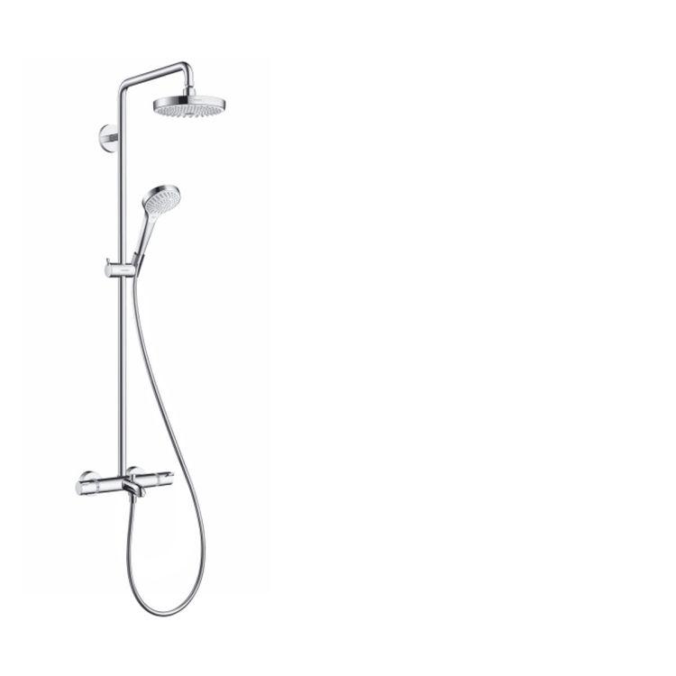 Croma Select S 180 2-jet Showerpipe Душевая система для ванны - 1