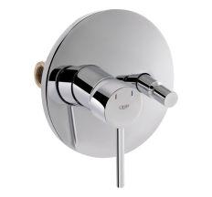 Смеситель скрытого монтажа для ванны Qtap Spring CRM 010-2